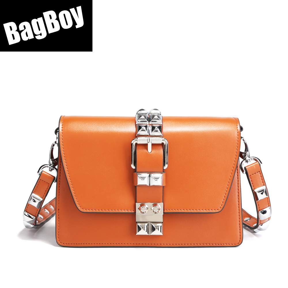 BagBoy Sliver Lock Hand Bag For Women 2018,Mini Fashion Messenger Bag,Genuine Leather Shoulder Bag,Party Crossbody Bag For WomenBagBoy Sliver Lock Hand Bag For Women 2018,Mini Fashion Messenger Bag,Genuine Leather Shoulder Bag,Party Crossbody Bag For Women