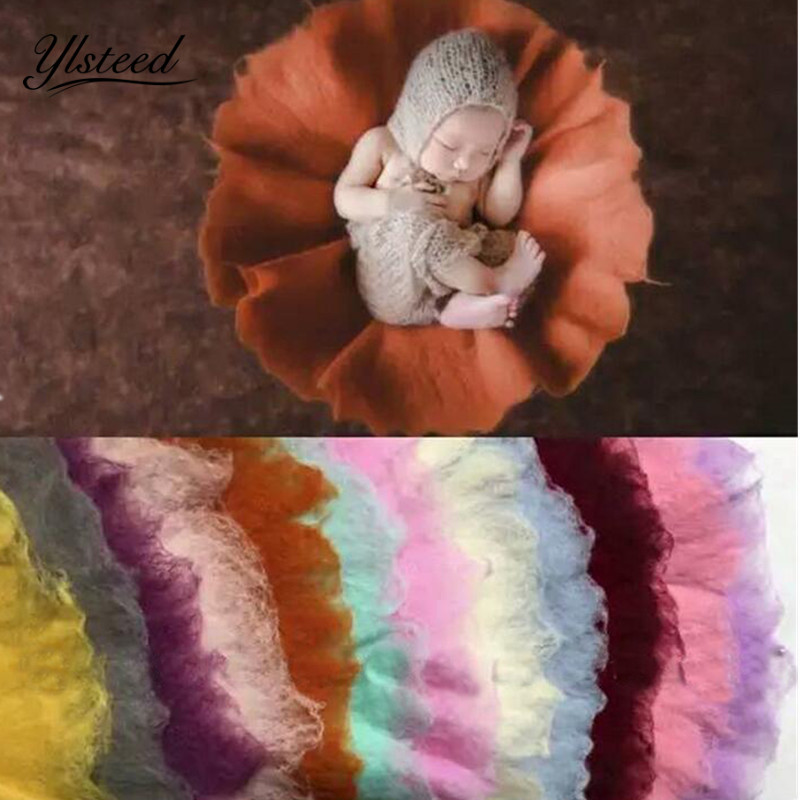 60cm*60cm New Hot Newborn Photography Props Round Wool Filler Baby Blanket Photographic Studio Background Accessories new promotion newborn photographic background christmas vinyl photography backdrops 200cm 300cm photo studio props for baby l814