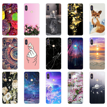 A silicone case For 5.99 inch Xiaomi Redmi Note 5 global pro Case Cover redmi note 5 Snapdragon 636 version note5 pro case image