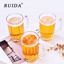 RUIDA Transparent Creative Wine Plastic Cup Beer Coffee Tea Juice High Boron Martini Cocktail Glasses Perfect Gift Bar Mug