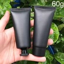 60 مللي فروست الأسود البلاستيك كريم زجاحة ضغط 60 جرام التجميل منظف للوجه أنبوب لينة الشامبو غسول حزمة زجاجات شحن مجاني