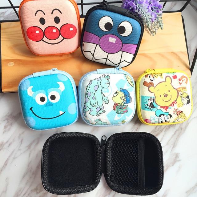 Disney Princess children cartoon purse Coin Mickey coin bag girl boy gift handbag storage key headset bag kid box packet Clutch | Happy Baby Mama
