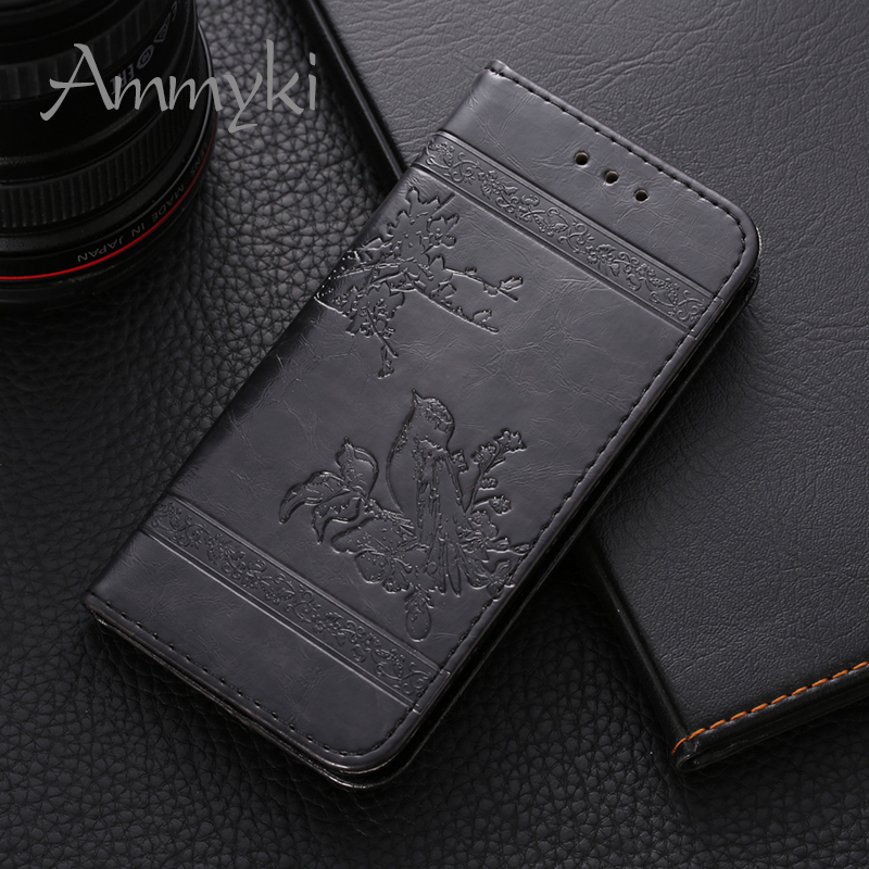 AMMYKI  unique Fragrant floral high-end leather phone back cover 5.0'For Samsung Galaxy J5 Prime G570 case