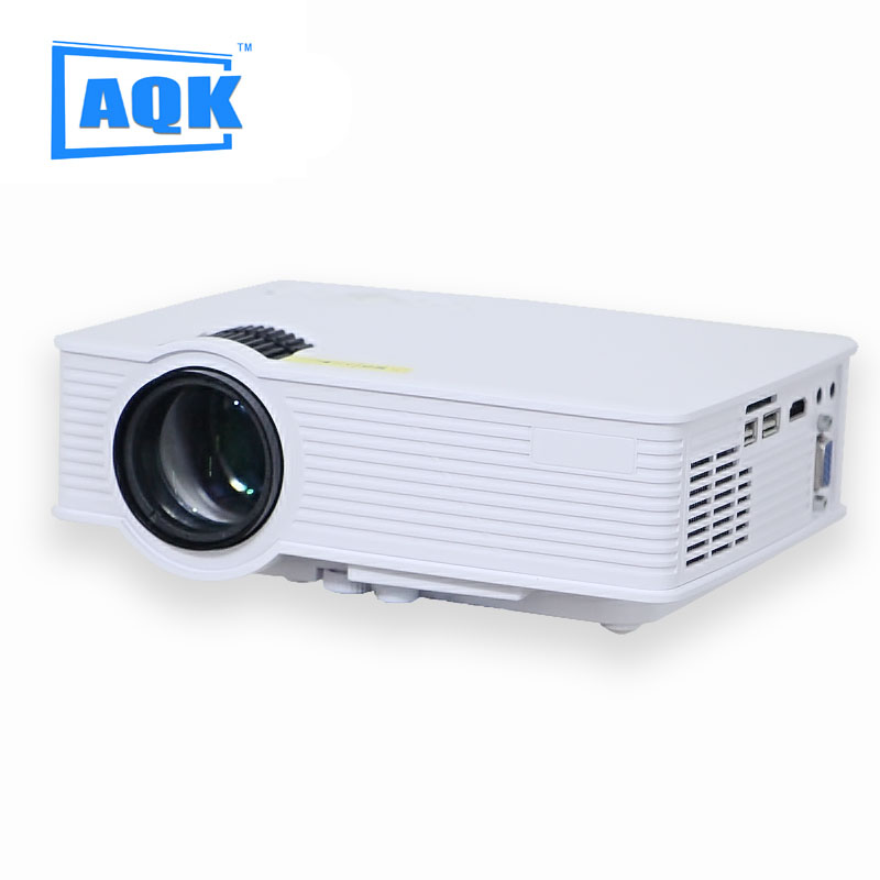 2016 projector 2000 lumens support 1920x1080p led for Highest lumen pocket projector
