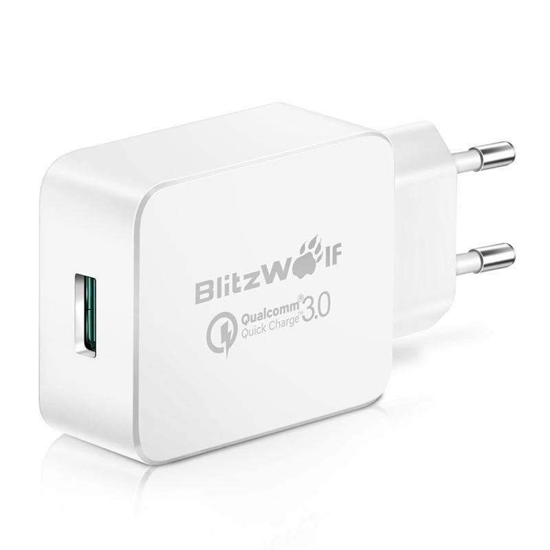 BlitzWolf QC3.0 IPad üçün Samsung Chagers üçün Xiaomi üçün - Cib telefonu aksesuarları və hissələri - Fotoqrafiya 6
