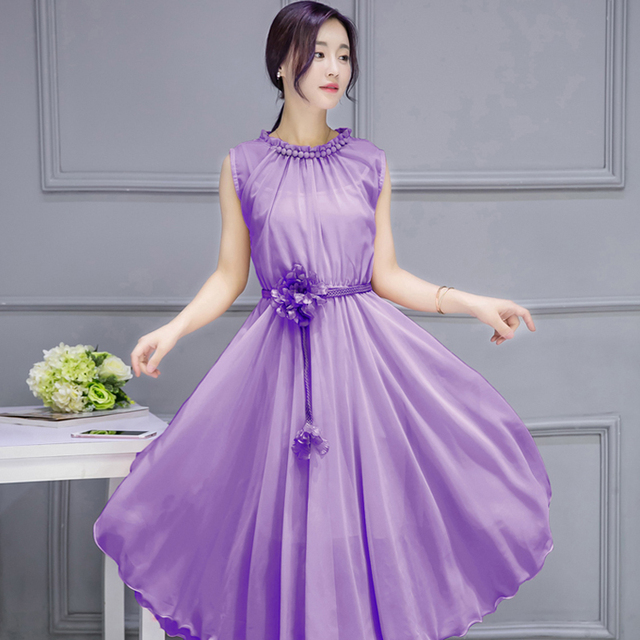 Chiffon Vest Dresses Women Summer Clear New Unusual Often Princess Dresses 1adc9d63bf97