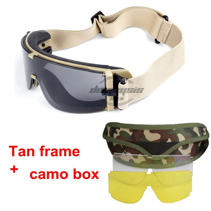 HTB1DRRtXI vK1RkSmRyq6xwupXaX - Military Airsoft Tactical Goggles Army Tactical Sunglasses Glasses Army Paintball Goggles