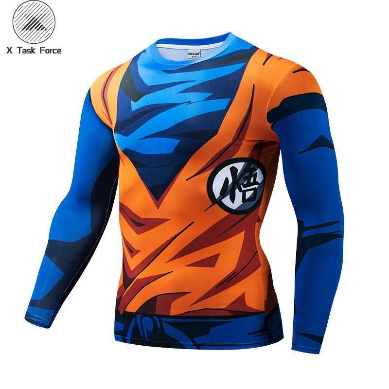 Новая мода Япония аниме Dragon Ball Z персонаж Гоку 3D футболка для женщин/мужчин harajuku мультфильм футболка Повседневная футболка Топы Косплей S-4XL