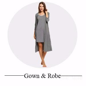 Nightgown Robe Set
