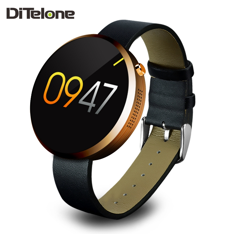 DiTelone DM360 Bluetooth Smart Watch Android Wearable Devices SmartWatch Waterproof Heart Rate Monitor For IOS and Andriod f2 smart watch accurate heart rate statistics i bluetooth watch compatible android smart wearable ios system