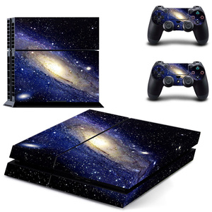Image 3 - Galaxy Stars Vinyl Stickers Voor Sony Playstation 4 Console & 2 Controller Skin Voor PS4 Stickers Cover
