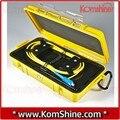 KomShine 1000 m De Fibra Óptica OTDR Lançamento Caixa de Cabo/OTDR Zona Morta Eliminador/Anéis de Fibra