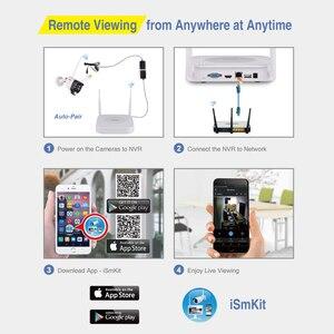 Image 4 - Cámara IP de 8 canales, 1080P, 2MP, sistema inalámbrico de grabación de Audio CCTV para el hogar, NVR, Kit de cámara cctv, Sensor PIR de videovigilancia Tonton