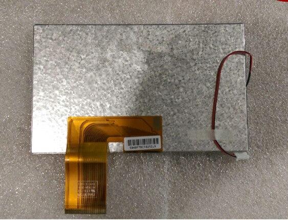 1 Stücke 7,0 ''7 Inch Replacment Tft Lcd Display Bildschirm Ffc Anzahl 7300101570 E231732 Für Auto Display PüNktliches Timing
