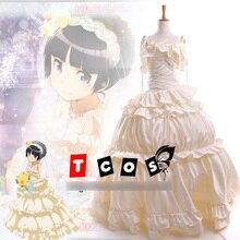 Anime Ore no Imouto ga Black Cat Gokou Ruri Wedding dress cosplay costume lolita uniform custom made halloween costume for women