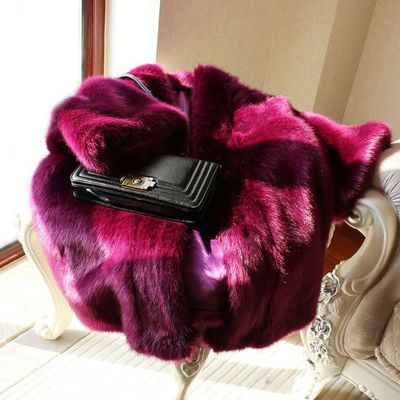 Женская шуба из искусственного меха, 17S41|Куртки из искусственного меха| | АлиЭкспресс