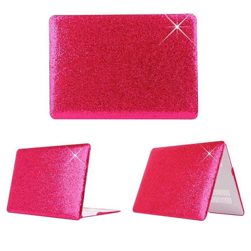 Błyszczący wzór plastikowy pokrowiec Fashion Brokat dla Macbook - Akcesoria do laptopów - Zdjęcie 3