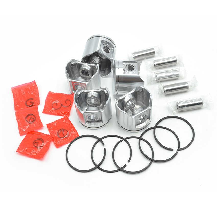 Pistón con anillos adecuado Husqvarna 359 motor Sierra 47 mm 5371572-02