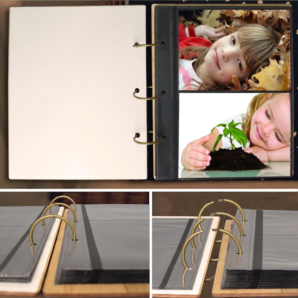 Cossyhome 5x7 mariposa álbum 120 bolsillos fotografía libro para 5 ...