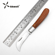 KKWOLF pocket folding knife outdoor Survival camping hunting Tactical knife Small machete