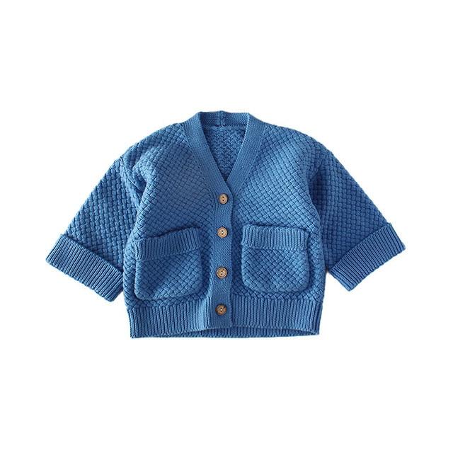 Nieuwe Kinderkleding.2018 Nieuwe Kinderkleding Baby Jongens Truien Vest Pocket Peuter