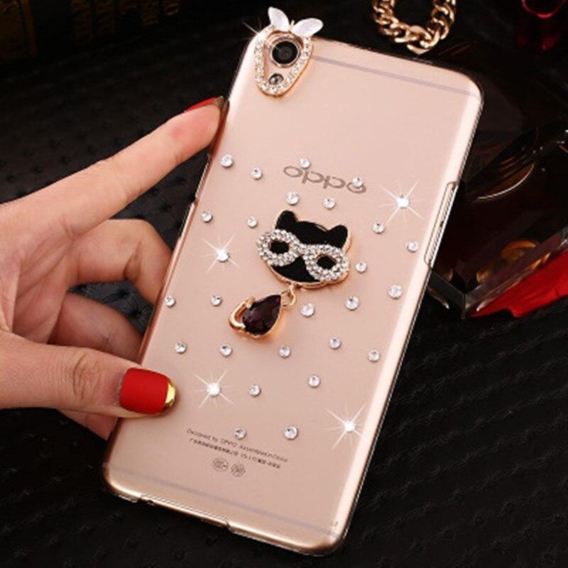 Fashion Golden Love Diamond Rhinestone Case Cover For Huawei Nova Plus P8  P9 P10 Plus V9 3bb94b0bad52