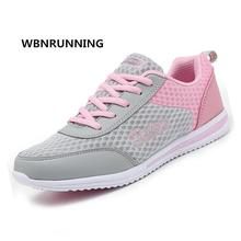 WBNRUNNING 2017 autumn new women's sports shoes, breathable comfortable lace shoes running shoes size 35-42