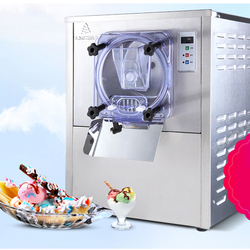 Automatische Ijs Maker Commerciële Hard Bevroren Ijs Machine Huishouden Sneeuwbal Icecream Making Machine BQL-112Y