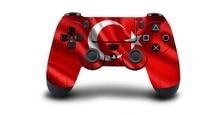 1pcs Turkey National Flag PS4 Skin Sticker Decal Vinyl For PS4 PlayStation 4 Dualshock 4 Controller Skin Sticker