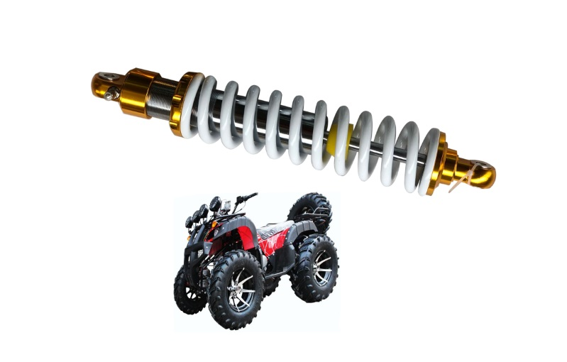 New 10mm spring 400mm 15 7inch rear suspension shock absorber for atv quad gokat replace motorcycle