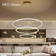 NEO GLeam Minimalism Modern Chandelier Light For Dining Room Bar Kitchen lustres para sala de jantar Hanging Led Lamp