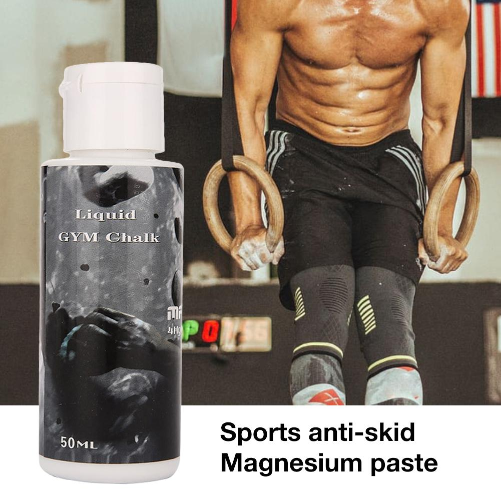 50ML Anti-Slip Powder Enhancer Magnesium For Gymnastics Fitness Climbing Football Tennis Golf Fitness Lifting Training