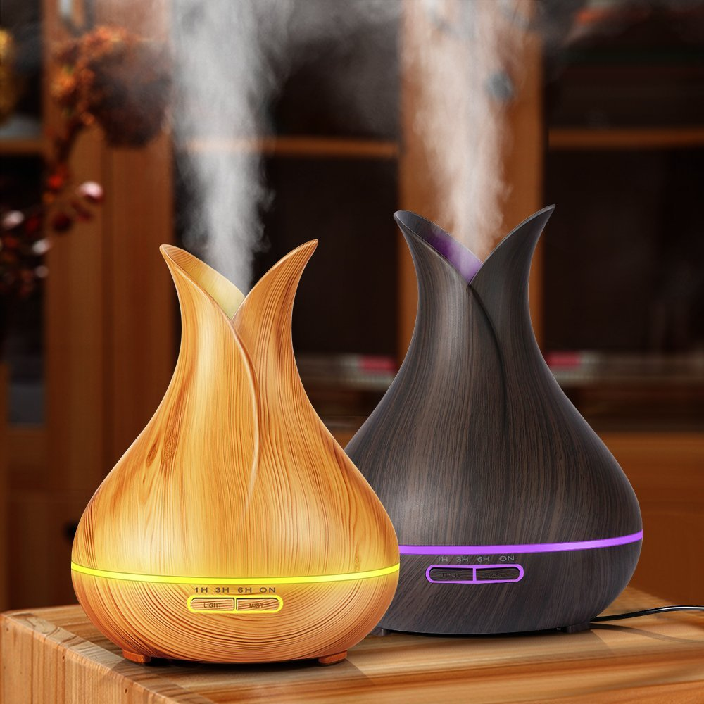 400ml Air Humidifier Essential Oil Diffuser Aromatherapy diffusers Aroma Mist Maker elec ...
