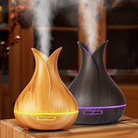 400ml Air Humidifier Essential Oil Diffuser Aromatherapy Diffusers Aroma Mist Maker Electric LED Lights Aroma Diffuser