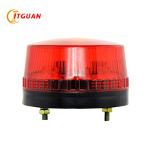 LTE-5060 free shipping mini LED flashing warning light red/yellow/green/blue with bolt bottom