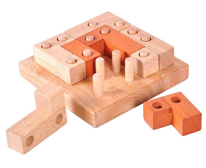 Classic Quality IQ Wooden Mrain Teaser Burr Puzzles Game for - Ойындар мен басқатырғыштар - фото 5