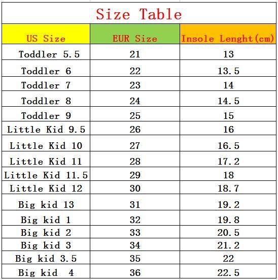 2018 New Summer Autumn Children Shoes Classic Cute Shoes For Kids Girls Boys Shoes Unisex Fashion Sneakers Size 21-36 5
