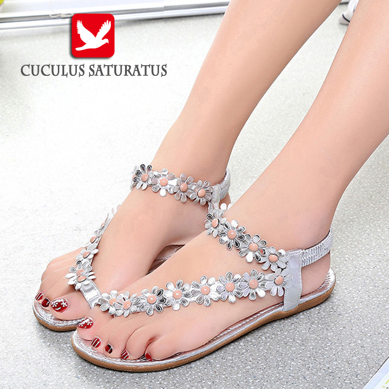 Cuculus 2017 Women Sandals Summer Style Bling Bowtie Fashion Peep Toe Jelly Shoes Sandal Flat Shoes Woman 3 Colors 01F669 newest design stylish wedge sandals bling bling multicolor rhinestone decoration celebrities style concise peep toe party shoes