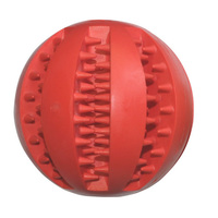 Pet Dog Toys Funny Interactive Elasticity Ball Dog Chew Toy For Dog Tooth Clean Ball Of Food Extra tough Rubber Ball