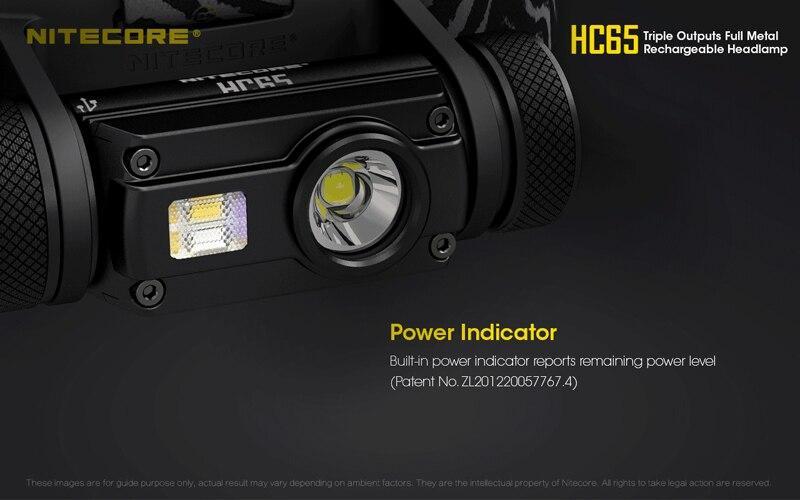 Nitecore HC65 1000 Lumens Rechargeable Headlamp (26)