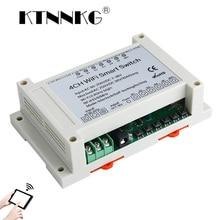 AC 110V 220V DC7-36V 4CH WiFi Switch Smart Home Relay Module