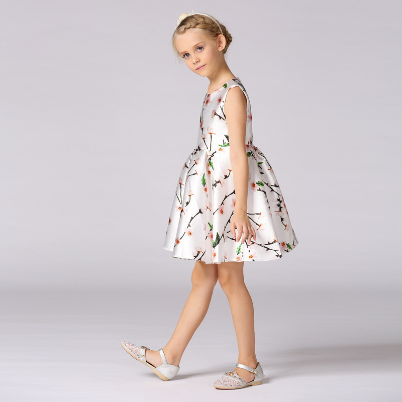 Summer Clothes Flower Girls Dresses For Wedding Gowns Short Mother Daughter Dresses A-Line Pageant Dresses for Little Girls