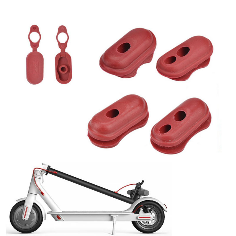 Electric Scooter Accessories Xiaomi M365 Red Rubber Charge Port Cover Rubber Plug For Xiao Mi M365 Electric Scooter