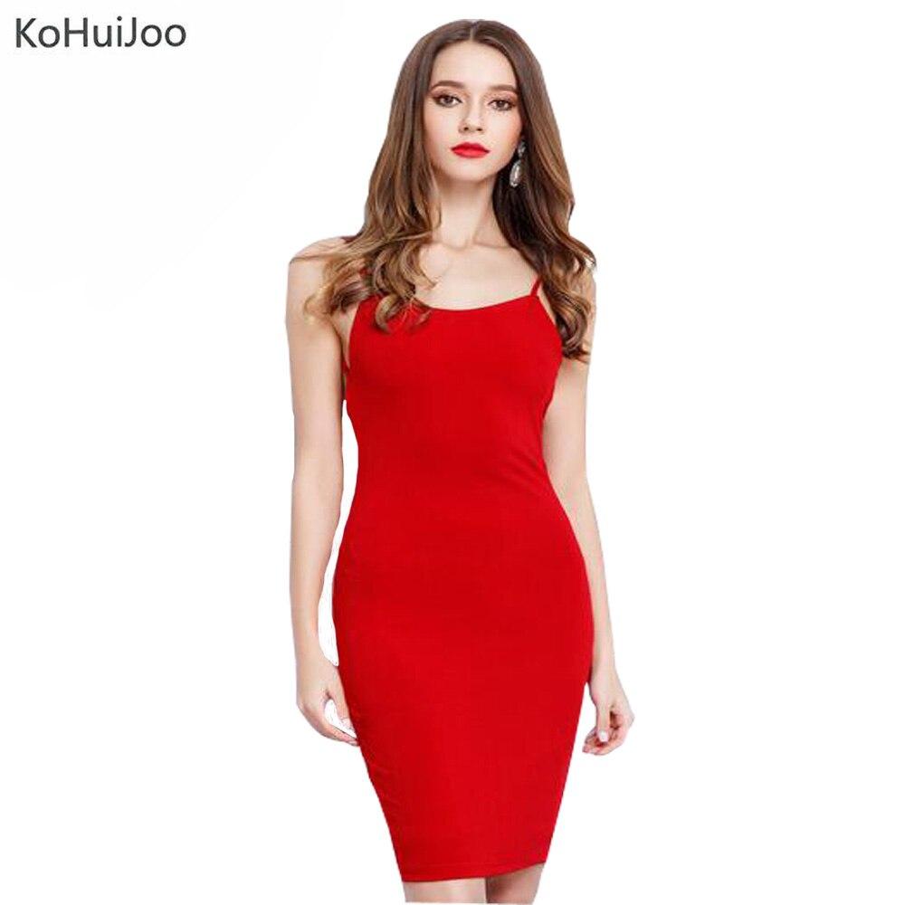 Popular Red Spaghetti Strap Dress-Buy Cheap Red Spaghetti Strap ...