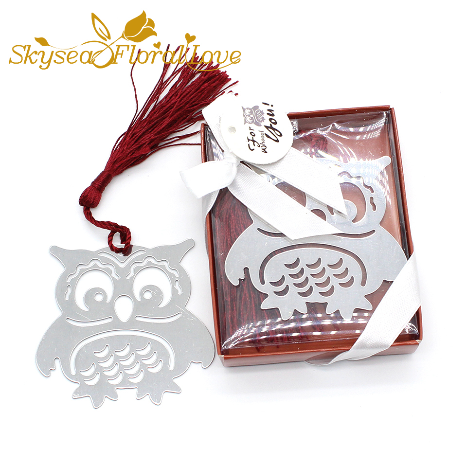 Wedding Gifts For Children: Baby Shower Favors Metal Owl Bookmark Children Gifts Baby