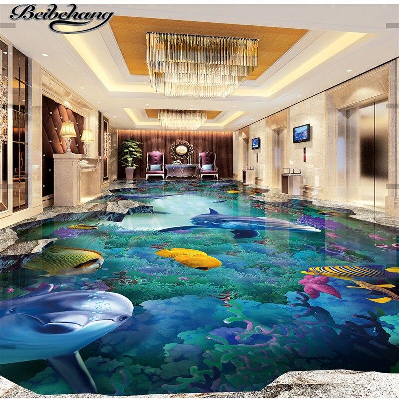 Beibehang Custom Three Dimensional Painting Sea World