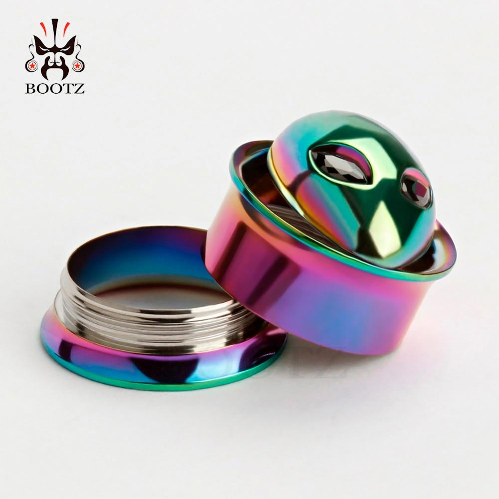 kobber alice logo rustfrit stål ørepropper skrue øre tunneler - Mode smykker - Foto 6