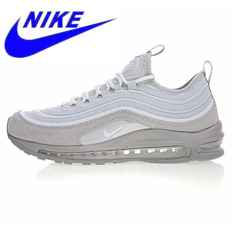 low priced 74dff dc46e US $137.19 49% OFF|Original Nike Air Max 97 UL 17 SE Men's Running Shoes,  Light Gray, Breathable Wear resistant Shock Absorbing Non Slip 924452  002-in ...