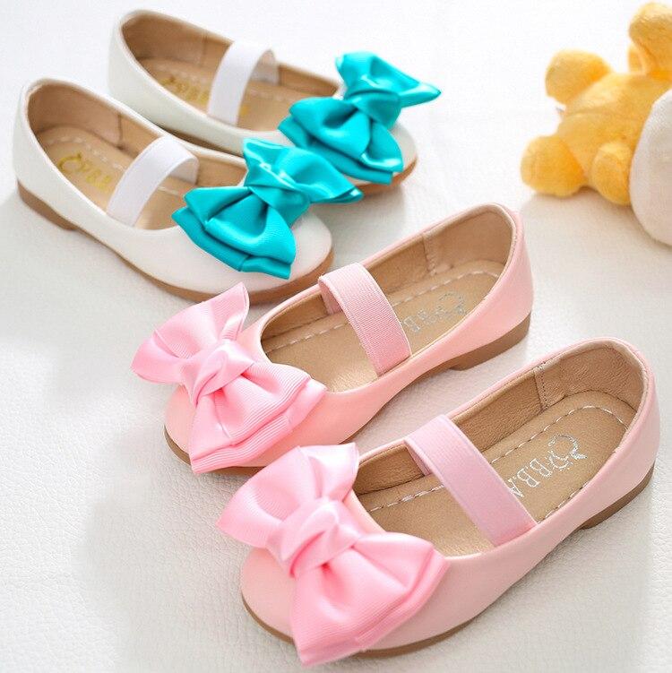 ộ_ộ ༽Niños vestido Zapatos nueva marca princesa Zapatos cuero de ...