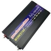 WORKSTAR пик 3000 W Чистая синусоида решетки DC12V/24 V к AC220V 50 Гц/60 Гц Мощность преобразователь дом использовать конвертер для солнечной Системы